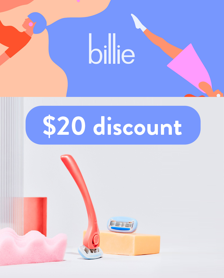My Billie Discount Code | Get up to $20 in MyBillie credit through the referral program here!
