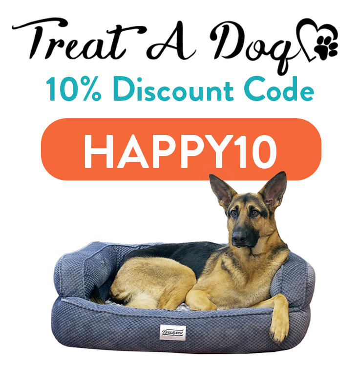 Treat a Dog Discount Code | 10% off code: HAPPY10