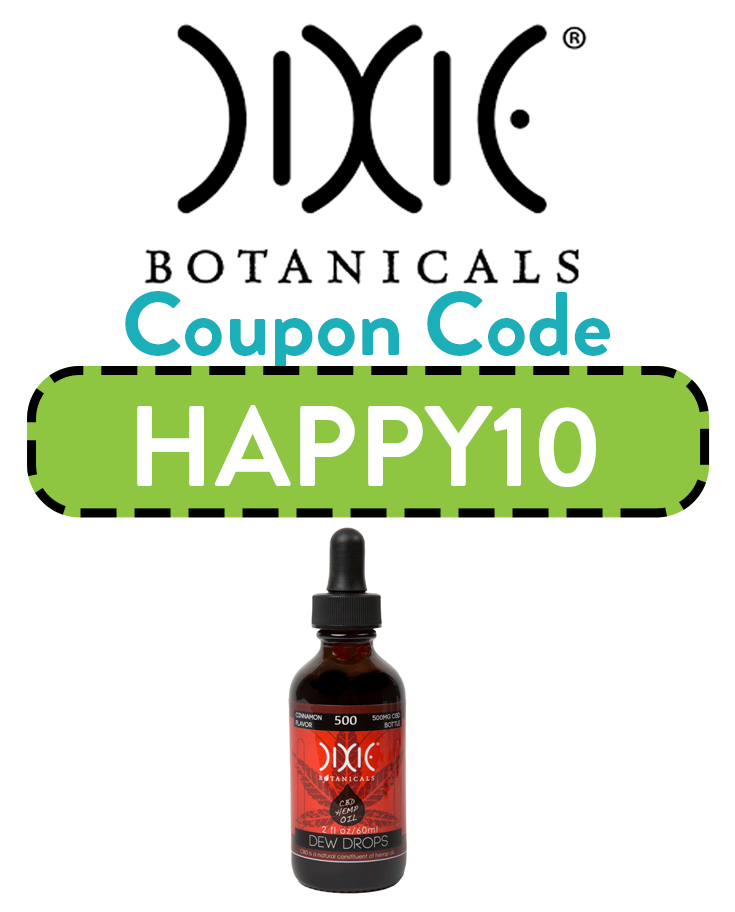Dixie Botanicals Coupon Code | Get 10% off with code HAPPY10