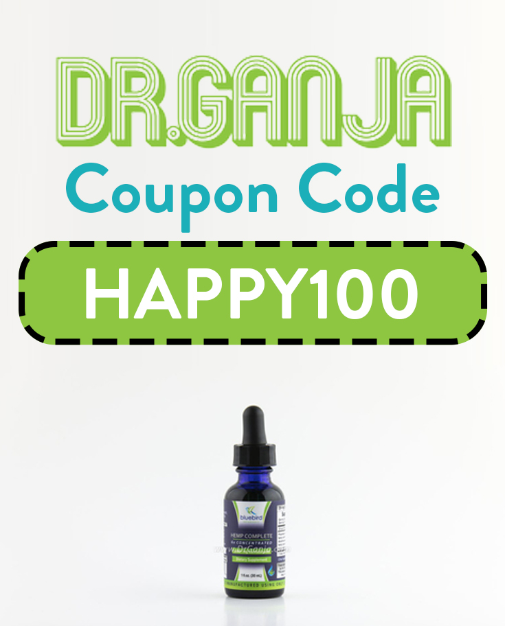 Dr. Ganja Coupon Code | 5% off with DrGanja promo code: HAPPY100