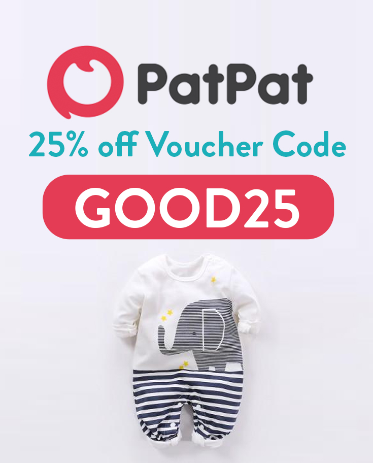 PatPat Voucher Code UK | Get 25% off and free shipping with code: GOOD25