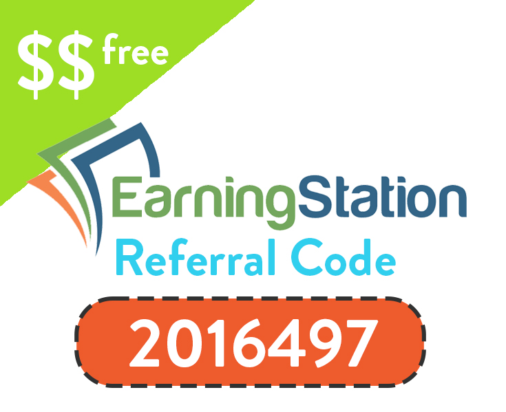 EarningStation Referral Code | Sign up with code: 2016497