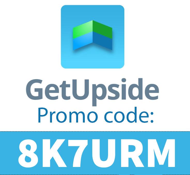 GetUpside Promo Code | Use code: 8K7URM