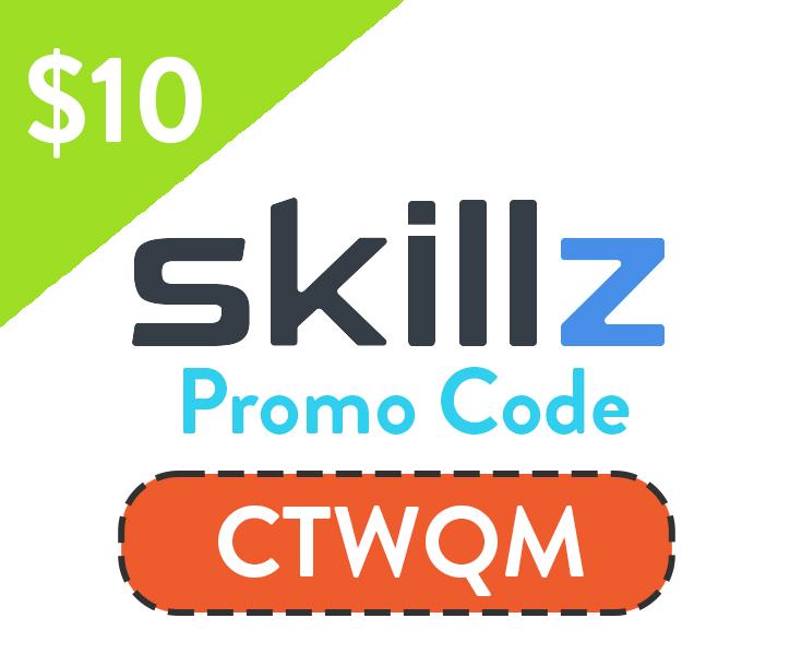 Skillz Promo Code | Get $10 bonus with code: CTWQM
