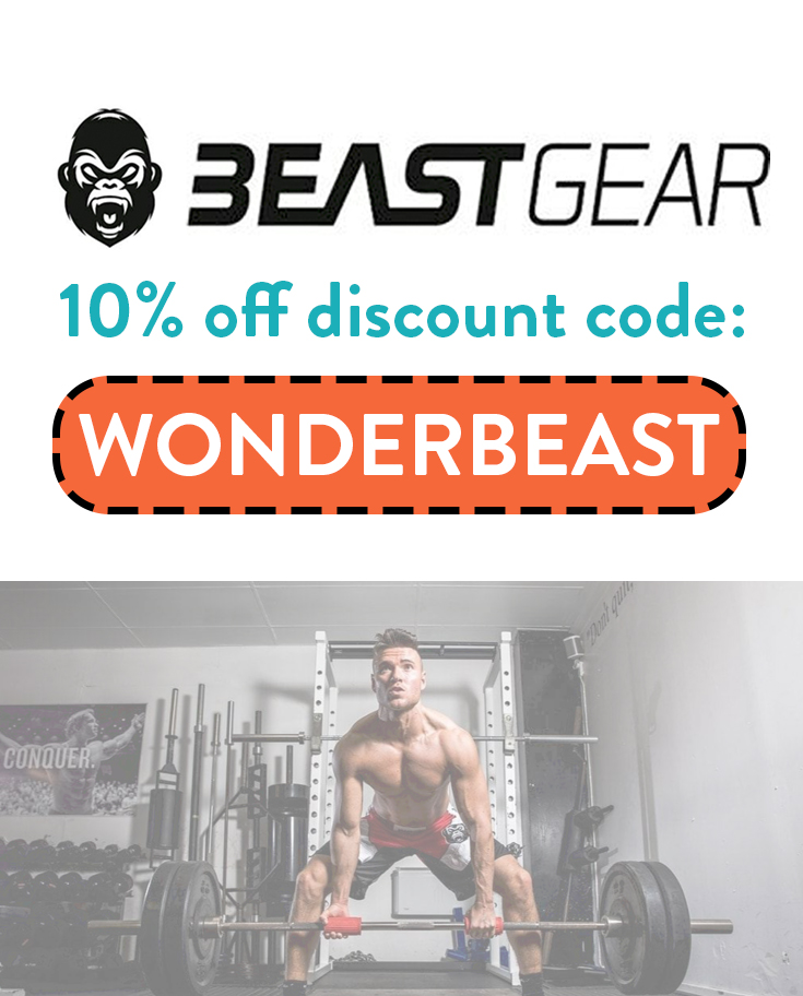 Beast Gear Discount Code | 10% off with code: WONDERBEAST