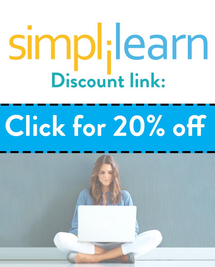 Simplilearn Discount Code | Get 20% off