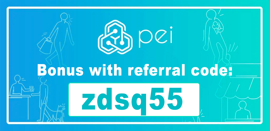 Pei App Referral Code | Bitcoin bonus code: zdsq55
