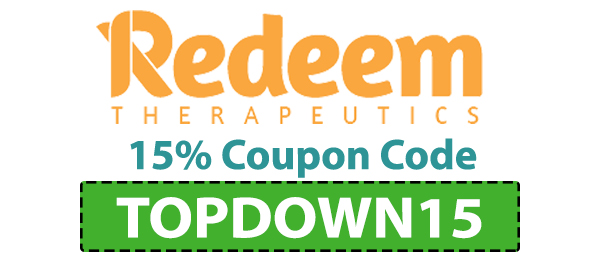 15% Redeem Therapeutics Coupon Code: TOPDOWN15