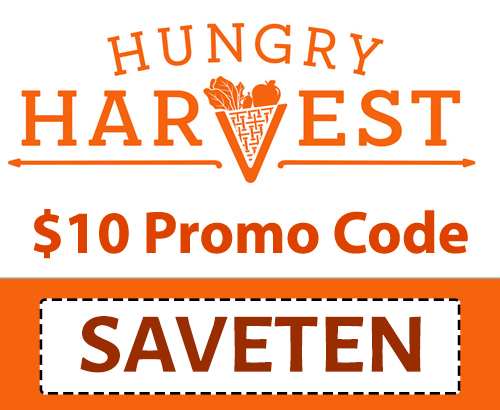 Hungry Harvest Discount Code: Use code SAVETEN