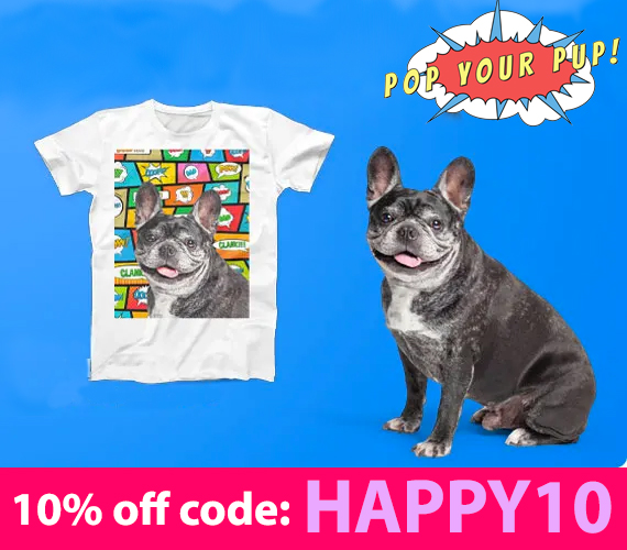 Pop Your Pup Discount Code: HAPPY10