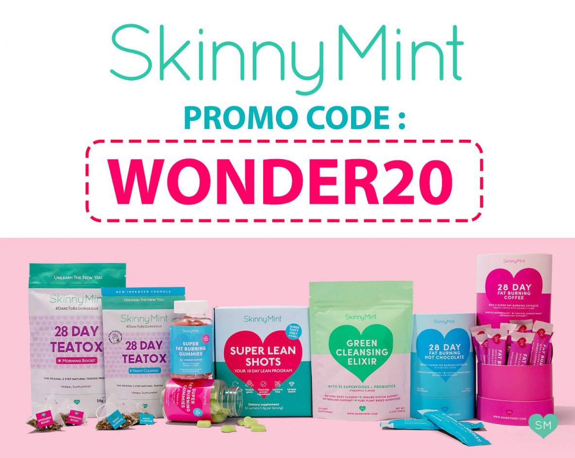 SkinnyMint Promo Code | 20% off: WONDER20