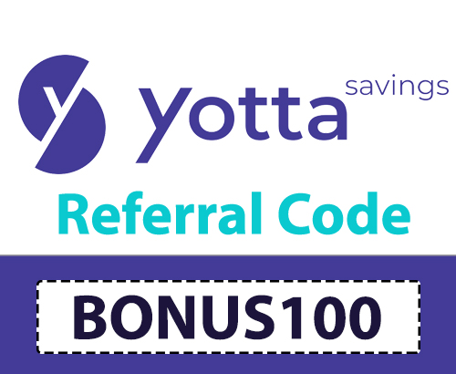 Yotta Referral Code | Code: BONUS100