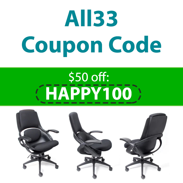 All33 Coupon Code | $50 off code: HAPPY100