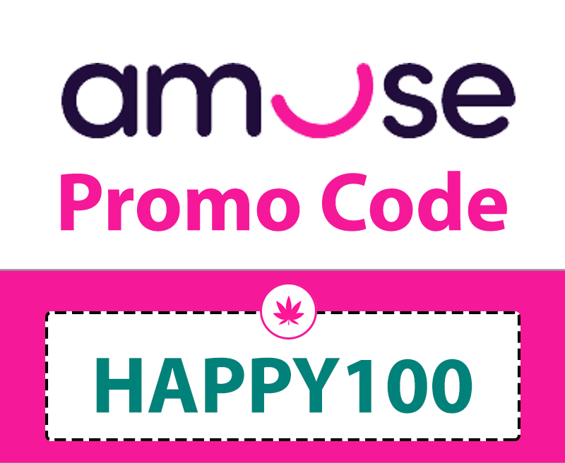 20% Amuse Weed Delivery Promo Code: HAPPY100