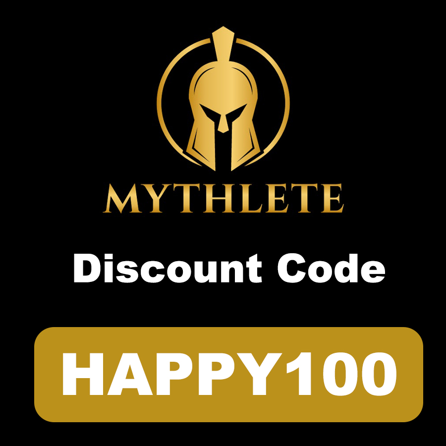 Mythlete Discount Code | 10% off code: HAPPY100