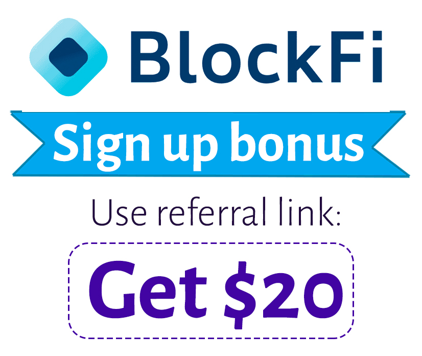 BlockFi Referral Code | Get $10 BTC sign up bonus