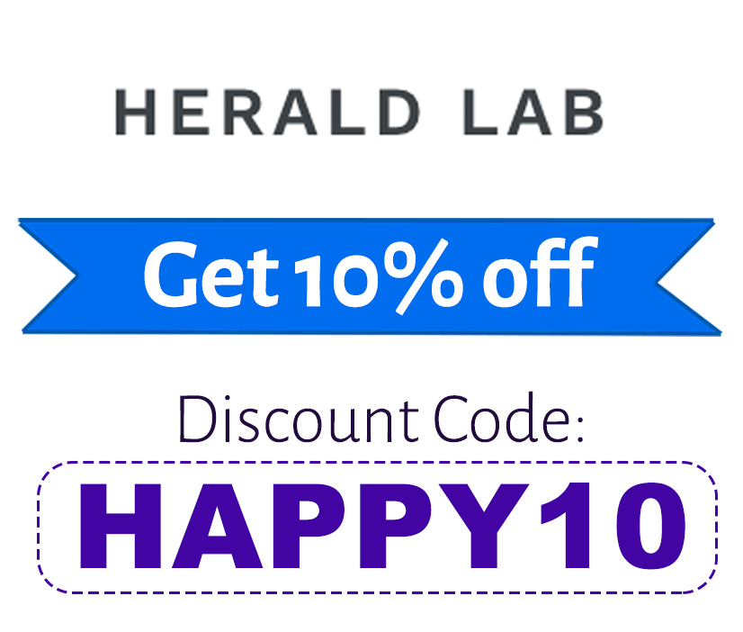 Herald Lab Discount Code | 10% off: HAPPY10