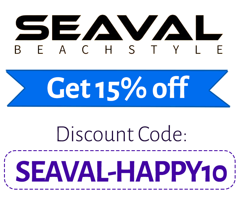 Seaval Discount Code | 15% off: SEAVAL-HAPPY10