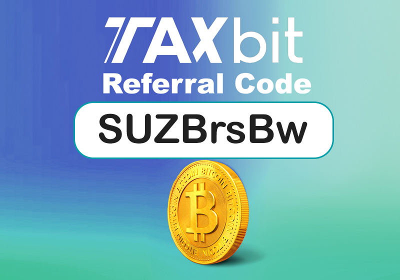 TaxBit referral code | 10% off code: SUZBrsBw