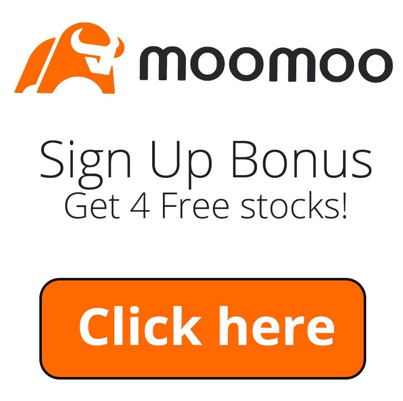 MooMoo Sign Up Bonus | Get 4 free stocks through the referral promotion program!