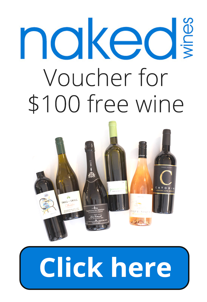 Naked Wines Voucher Code for $100 in Free Wine